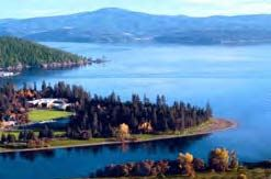 Image of Lake Coeur d'Alene