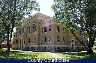 County Courthouse three story building