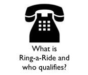 What is a Ring a Ride and Who Qualifies
