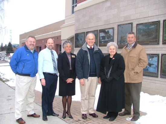 Commissioners of Kootenai County in Veetrans Plaza