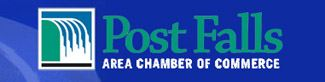 Post Falls Area Chamber of Commerce Website