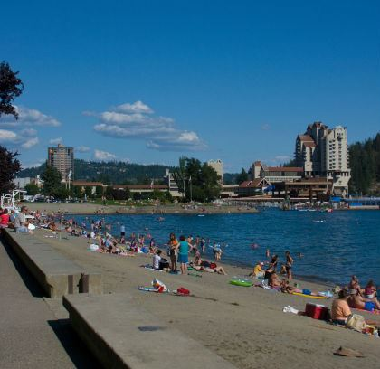 Coeur d'Alene City Beach