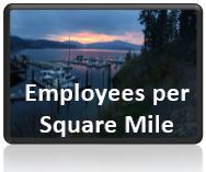 Employees per Mile