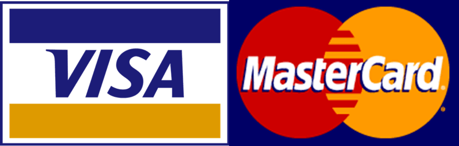 Image of Visa Mastercard and Discover logo collage