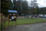 Image of Bayview Park sign and leading driveway