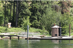 Image of Lake and floating dock